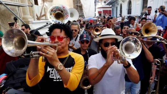 New Orleans Musicians Thumb at President Trump's Cuba Policy