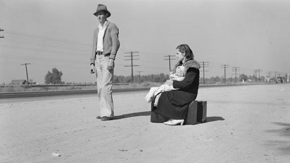 Dorothea Lange. 1936. Archivo de la Farm Security Administration / Office of War Information. Library of Congress, Washington