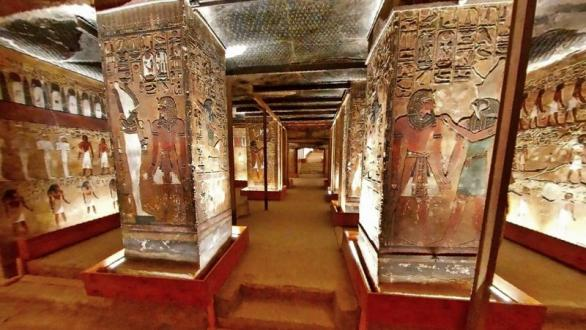 The 3D virtual tour of the tomb of Seti I