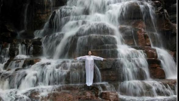 Marina Abramovic, Places of Power, Waterfall, 2013, single channel video  Marina Abramovic Archives