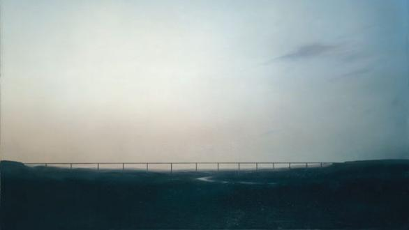 Gerhard Richter Ruhrtalbrücke, 1969 Öl auf Leinwand, 120 x 150 cm, GR 228 Private Collection. Courtesy Hauser & Wirth Collection Services