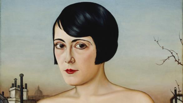 Christian Schad Maika, 1929 Oil on wood, 65 x 53 cm Private collection © Christian Schad Stiftung, Aschaffenburg, VEGAP, Bilbao, 2021