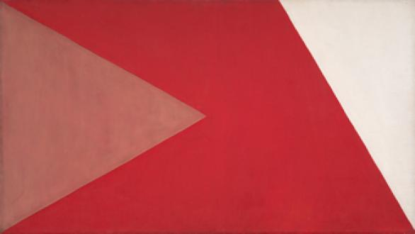Alfredo Volpi, Untitled (late 1950s).  Collection Marcos Ribeiro Simon, São Paulo.