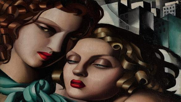 Tamara de Lempicka, The young girls, 1930 ca. © Tamara Art Heritage. Licensed by MMI NYC / ADAGP Paris / Tamara de Lempicka, VEGAP Madrid, 2018