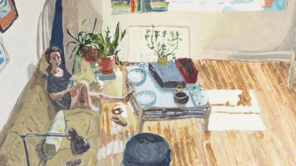 Polina Barskaya, Bright Living Room, 2017. Courtesy of the artist and Honey Ramka.