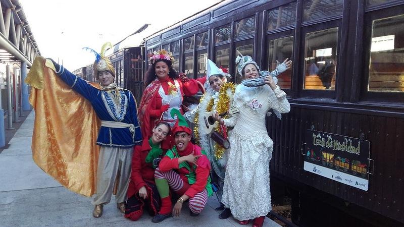 No pierda el Tren de Navidad