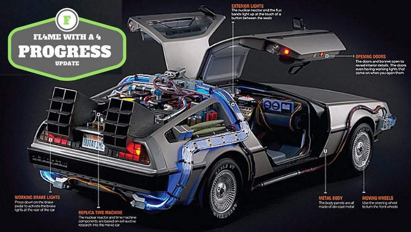 """Rodar con Arte. """"Regreso al futuro"""" en un DeLorean"""