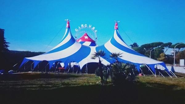 Circo Nacional de Cuba de gira por Roma