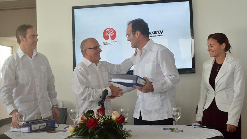 Egrem y Sony firman acuerdo para difundir la música cubana