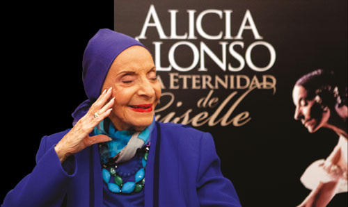 Alicia Alonso, a friend and a unique human being