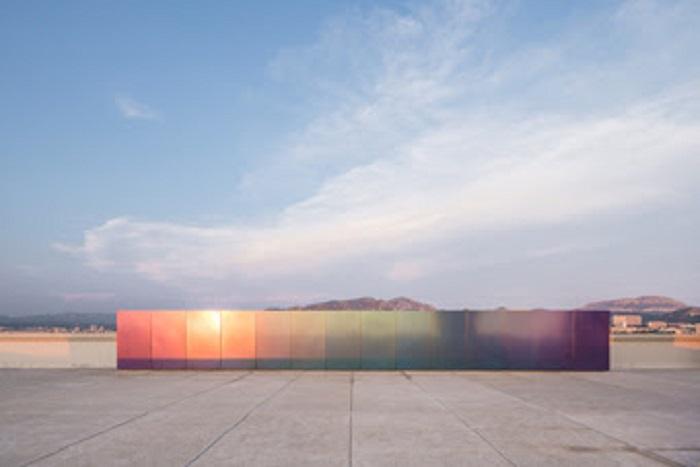MAMO. Olivier Mosset: Untitled