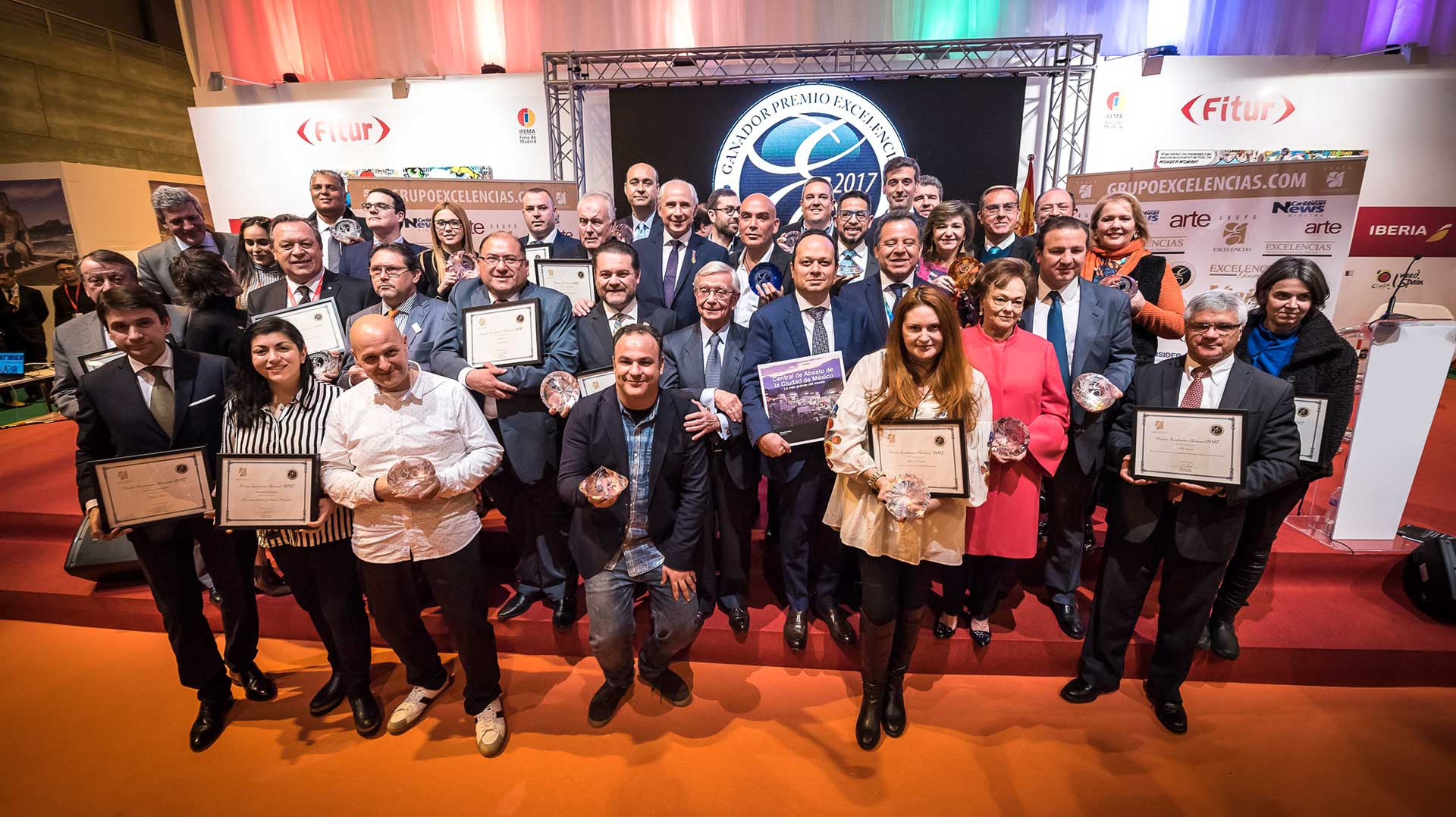 The 2017 Excelencias Prizes delivered at FITUR