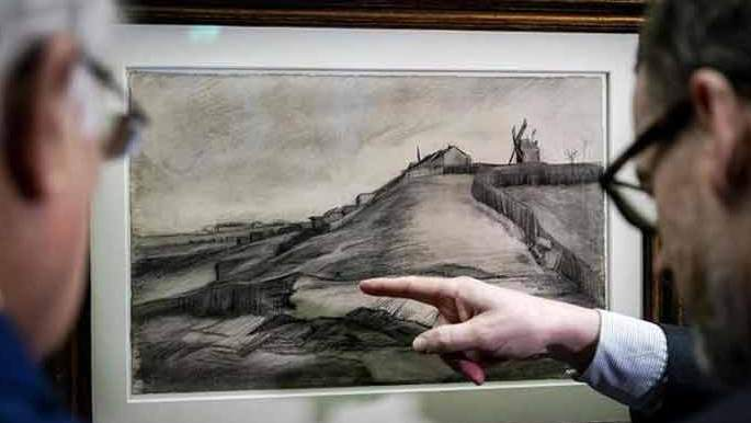 Van Gogh Sketches Go On Public Display For First Time in 100 Years